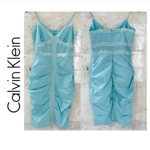 CALVIN KLEIN Cocktail Dress in Light Blue